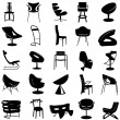 Royalty-Free Stock Vector Image: Modern chair