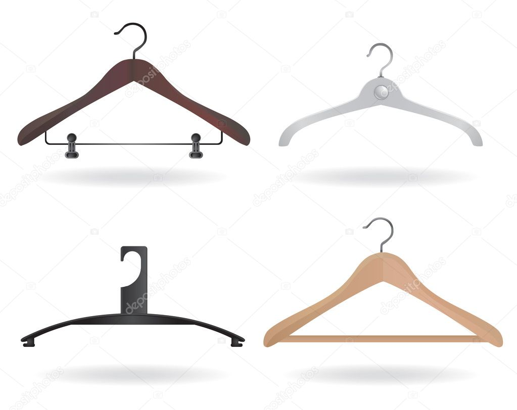 Set of hanger design — Stock Vector #6766276