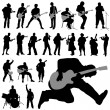 Royalty-Free Stock Vector Image: Set of musician