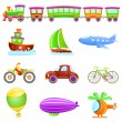 Cartoon transportation — Stock Vector #6825647