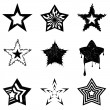 Royalty-Free Stock Vector Image: Star graphics