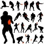 American football — Stock Vector #6825770