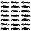 Set of cars - Stock Vector