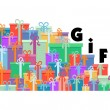 Royalty-Free Stock Vector Image: Gift box  design