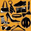 Royalty-Free Stock Vector Image: Fashion objects