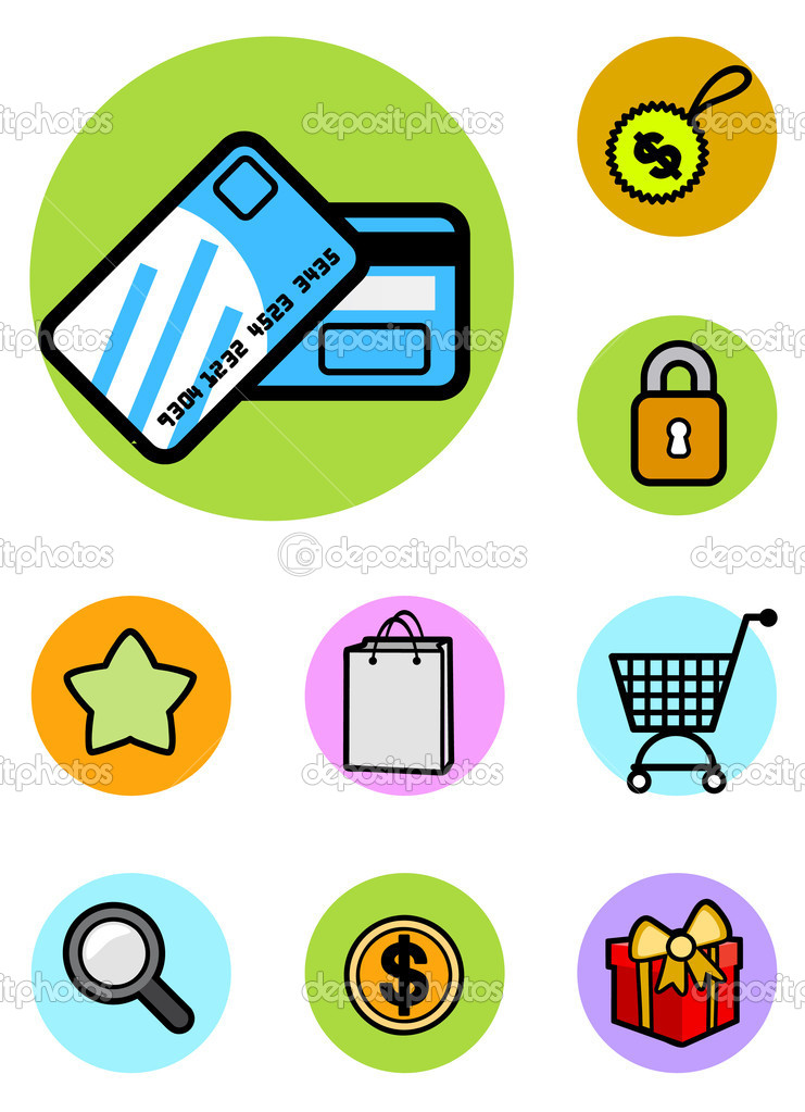 Set of shopping icon   Stock Vector #6931540