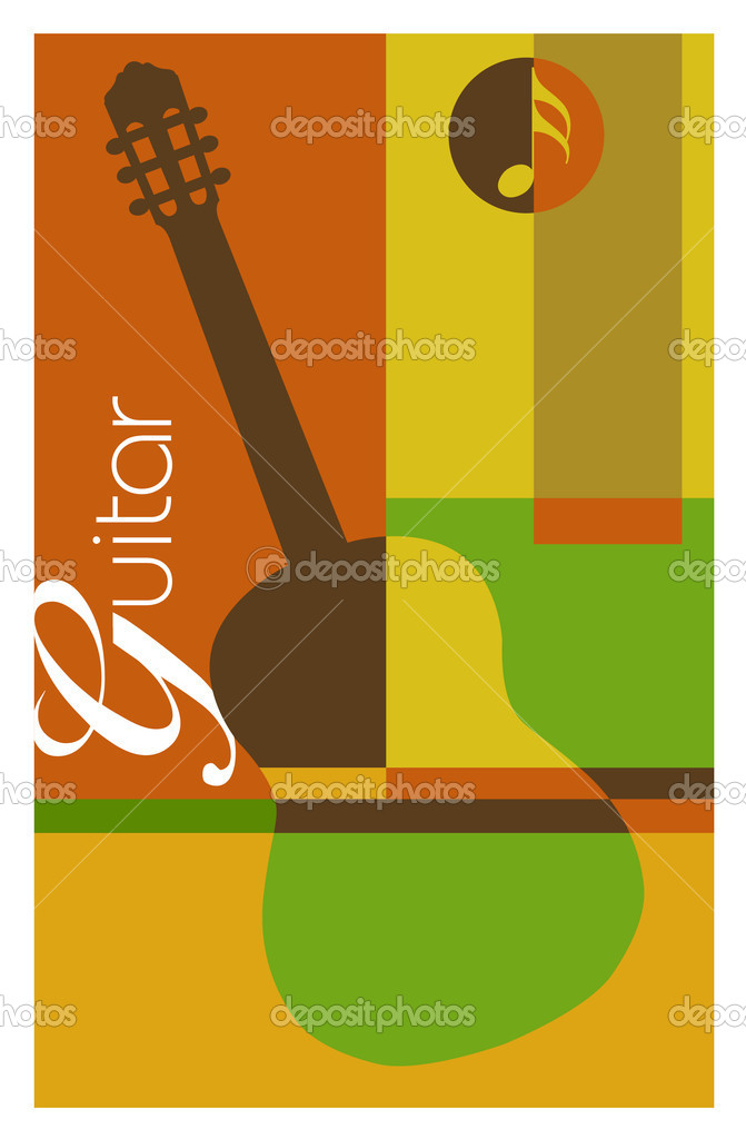 Abstract music background  Stock Vector #6931684