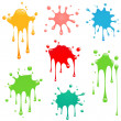 Paint Splatter - Stock Vector