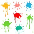 Stock Vector: Paint Splatter