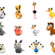 Royalty-Free Stock Vector Image: Cartoon farm animal