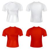 T shirt for men — Stock Vector