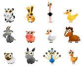 Cartoon farm animal — Stock Vector