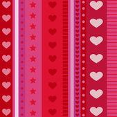 Patrón de corazón — Vector de stock