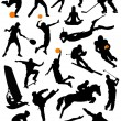 Collection of sport — Stock Vector #7145843