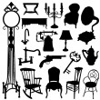 Royalty-Free Stock Vector Image: Antique objects