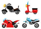 Illustrazioni di moto — Vettoriale Stock