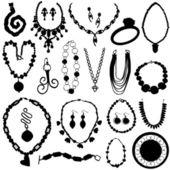 Jewelry set — Stock Vector