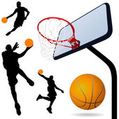 Basketbal vector — Stockvector