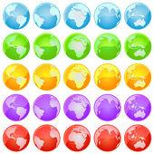 Världen av världen. — Stockvektor