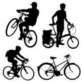Vecteur de bicycle — Vecteur