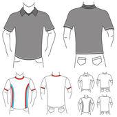 Kleidung-vorlage — Stockvektor