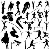 Olympic sport silhouettes — Stock Vector