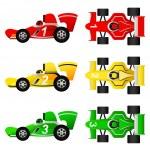 Formula car — Stock Vector #7406346