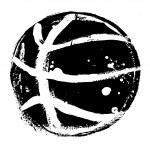 Grunge basketball — Stock Vector #7406409