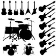 Music objects - Stock Vector