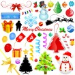 Christmas decoration — Imagen vectorial