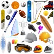 Sport items — Stock Vector #7406589