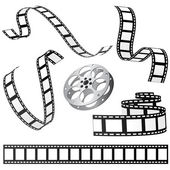 Conjunto de filme e rolo — Vetorial Stock