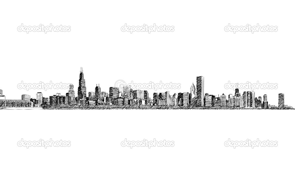 Landscape  city background  Stock Vector #7406684
