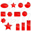 Royalty-Free Stock Imagen vectorial: Shopping tags