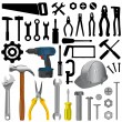Tools big set — Stock Vector #7514101