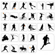 Royalty-Free Stock Vector Image: Big set of sport