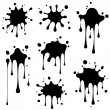 Splash vector — Stock Vector