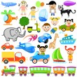 Royalty-Free Stock Imagen vectorial: Cartoon design element