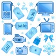 Royalty-Free Stock Imagen vectorial: Web sale elements