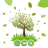 Ekologie koncept — Stock vektor