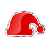 サンタ クロースを帽子します。 — ストックベクタ