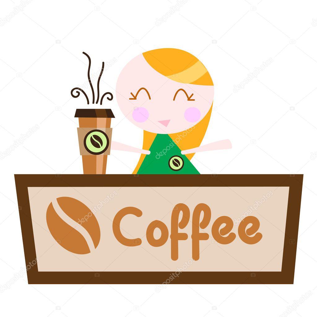 Coffee Shop Logo Vector Coffee Shop Vector Vector by