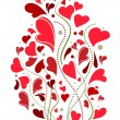 Stock Vector: Love decoration