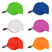 şapka seti — Stok Vektör