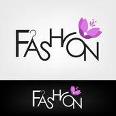Modedesign — Stockvektor
