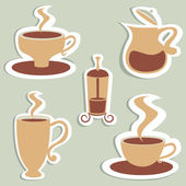 Coffee vector — Stock Vector