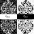 Royalty-Free Stock Imagem Vetorial: Vector decorative frame, or invitation cards