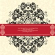 Royalty-Free Stock Vector Image: Vector ornate frame or invitation card