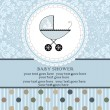 Stock vektor: Shower invitation