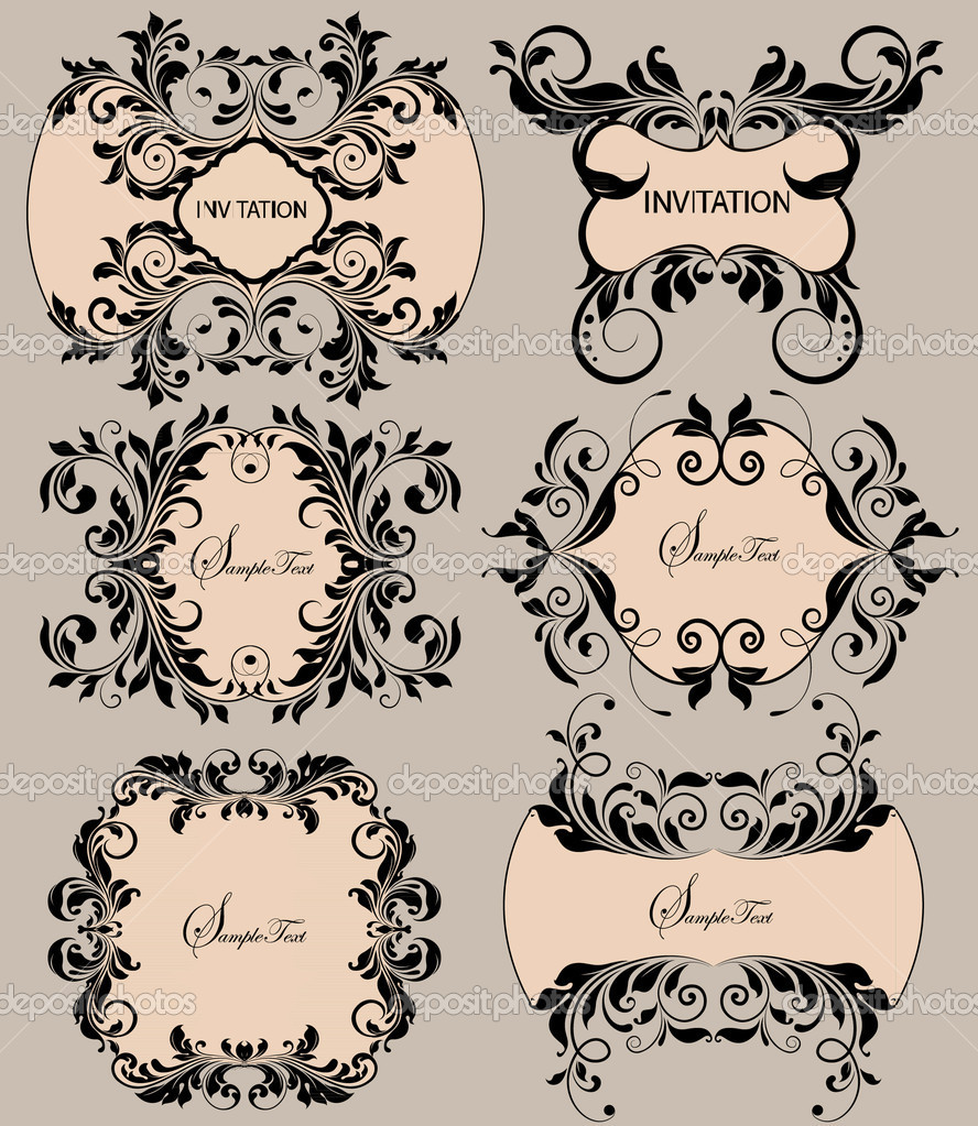 Vintage labels background — Stock Vector #7331580